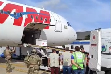 16.600 DOSES: novo lote da vacina Coronavac desembarca na Paraíba ; VEJA VÍDEO
