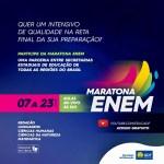 WhatsApp Image 2021 01 20 at 12.05.47 - Maratona Enem: TV Assembleia transmite em canal aberto bizurada para provas do exame