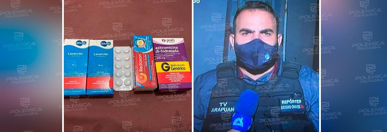 """WhatsApp Image 2021 01 21 at 10.46.33 - Repórter da TV arapuan contrai a covid-19 e faz tratamento com Azitromicina, Leverctin e Vitamina C: """"Estou arriado, com dor no corpo, febre e dor de cabeça"""""""