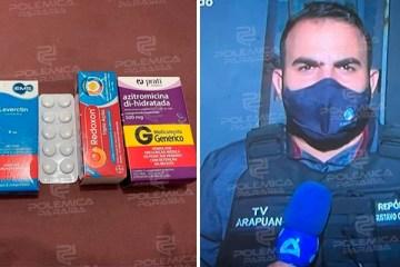 """Repórter da TV arapuan contrai a covid-19 e faz tratamento com Azitromicina, Leverctin e Vitamina C: """"Estou arriado, com dor no corpo, febre e dor de cabeça"""""""