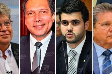 PAUTAS DA ASSEMBLEIA: João Azevêdo se reúne com Adriano Galdino, Ricardo Barbosa e Wilson Filho