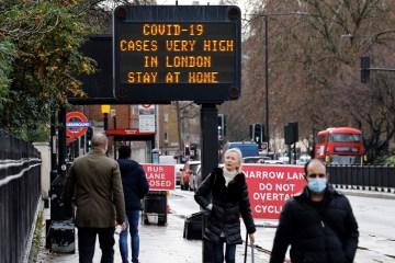 Z2IHHYRNQ4WU5IUNNH5GMBXH6M - Governo do Reino Unido afirma que a nova cepa do vírus é 30% mais letal