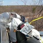 acidente 1 - Delegado da Polícia Civil Eriberto Paulino morre em acidente, em Juazeirinho