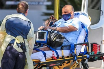 carlos bernardes ingresado open australia 2021 - Árbitro brasileiro do circuito de tênis passa bem após susto na Austrália