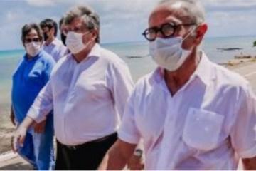 cicero e joao - Cícero Lucena e João Azevêdo visitam Estação Cabo Branco e planejam ações para reativar o complexo