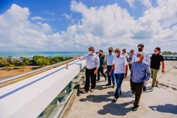 Cícero se reúne com João Azevêdo e anuncia obras de recuperação da Estação Cabo Branco