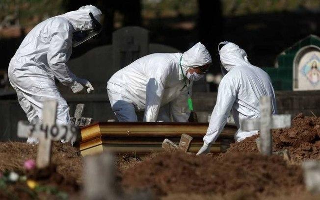 covid 1 - Pelo 3º dia seguido, Brasil registra mais de mil novas mortes por covid-19