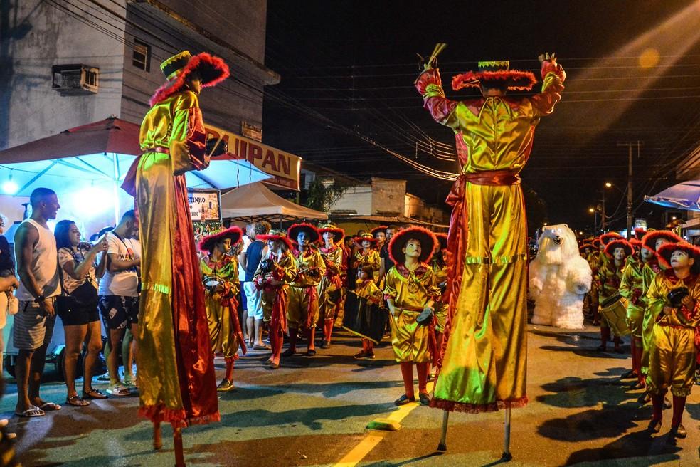 desfile campeas dayseeuzebio3 - Governador João Azevêdo confirma o cancelamento de ponto facultativo do Carnaval em 2021; confira