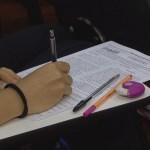 estudante enem1 - Quase 50% dos candidatos inscritos no Enem 2020 faltaram o segundo dia de prova na Paraíba