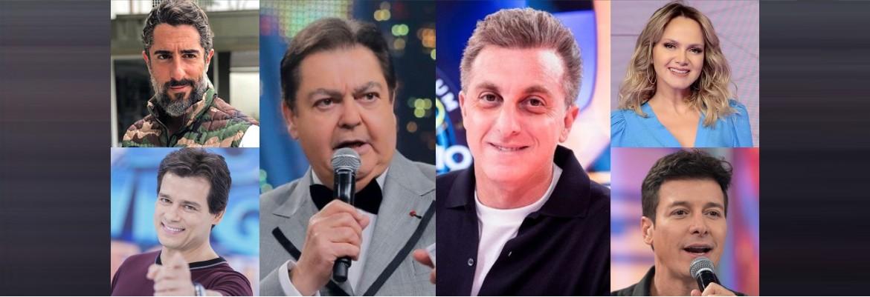 OLHO NA CONCORRÊNCIA: Sem Faustão e Huck, Globo deve buscar substitutos em outras emissoras