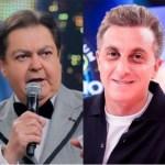 faustao e huck - OLHO NA CONCORRÊNCIA: Sem Faustão e Huck, Globo deve buscar substitutos em outras emissoras