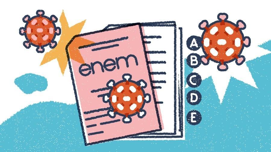 ilustra como o coronavirus pode cair no enem 1610057438404 v2 900x506 - Professor dá dicas para prova de Biologia, no segundo dia de prova do Enem 2020