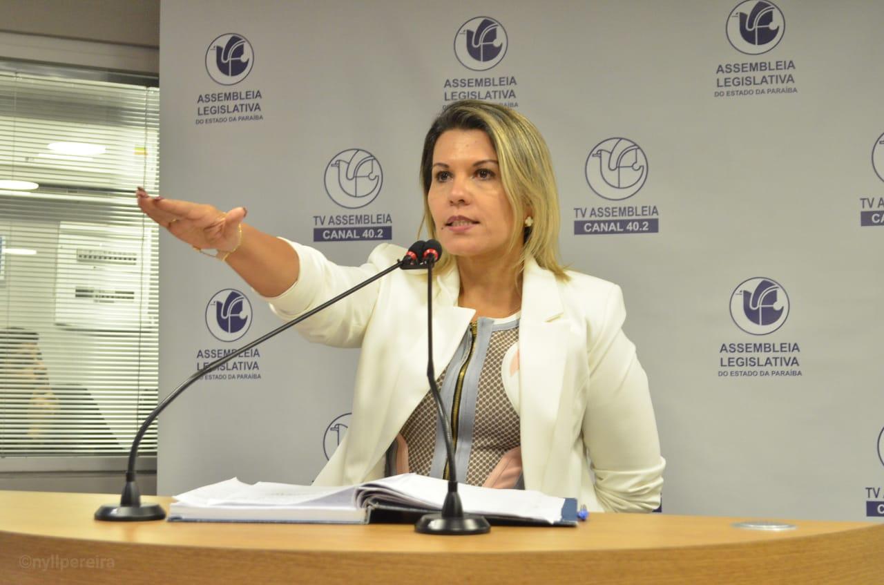 jane panta - Deputada Jane Panta assume titularidade do mandato na Assembleia da Paraíba