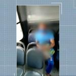 jpb2 cg 20210127 001 - Homem é investigado após ser filmado fazendo gestos obscenos dentro de ônibus, em Campina Grande