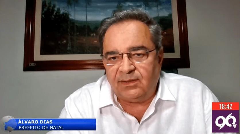 lvaro dias  - Após repercussão, Álvaro Dias recua e desiste de furar-fila para tomar vacina em Natal