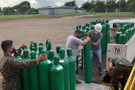 manaus - Mesmo com chegada de oxigênio em Manaus, situação ainda é preocupante