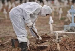 NOVO RECORDE NA PANDEMIA: Brasil registra 1.910 mortes e 71 mil casos de Covid-19 em 24 horas