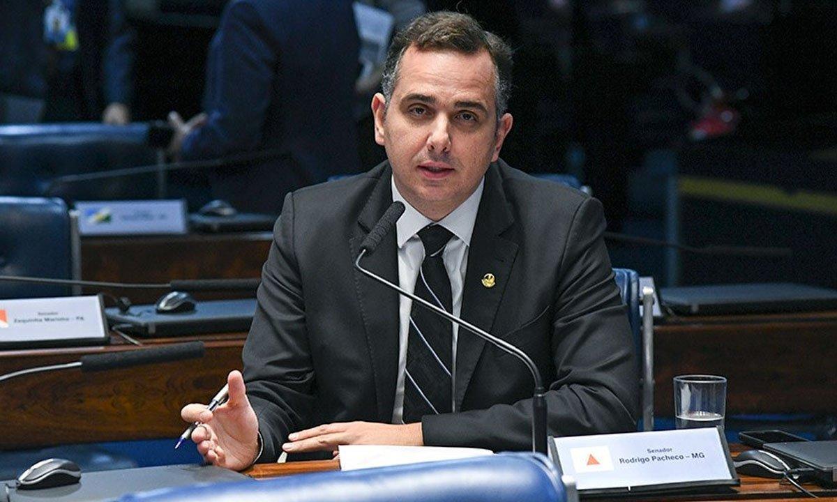 pacheco - ELEIÇÃO NO SENADO: Pacheco já tem votos suficientes para conseguir se eleger; Tebet vai buscar traições