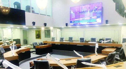 plenrio ALPB - Atividades presenciais da ALPB retornam na próxima segunda-feira (1º) com eleição dos integrantes da Mesa Diretora para o 2º biênio
