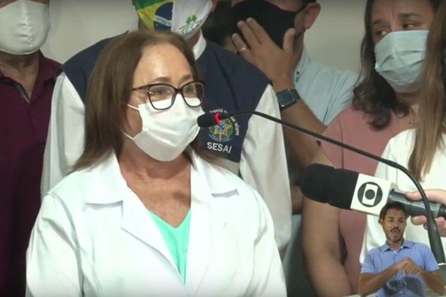 primeira vacinada de jp - 1ª vacinada na PB faz apelo: 'Lembrem-se que a pandemia não acabou'