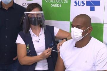 vacinaccao - Saúde de Campina Grande inicia hoje (27), imunização dos profissionais de saúde contra Covid-19