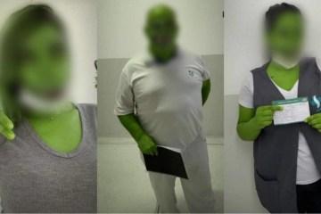 vacinados filtro jacare 1280x720 1 - Após vacina contra Covid-19, funcionários são advertidos por postarem fotos com filtro de 'jacaré'