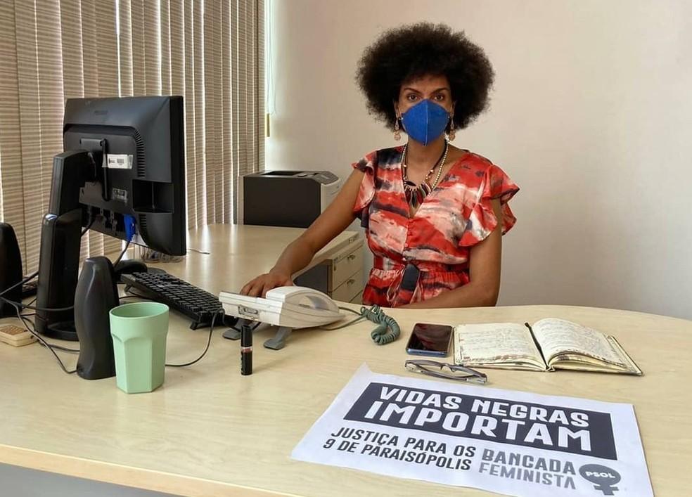 vereadora sp - Casa de vereadora do PSOL é alvo de ataque a tiros; vítima registra ocorrência por crime político