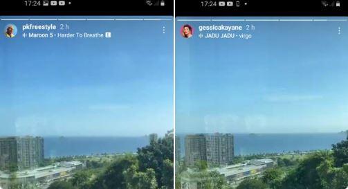 vista - PARAIBANA NO BBB? Gkay e PK mostram vista do mesmo lugar e fãs apostam em entrada no BBB21