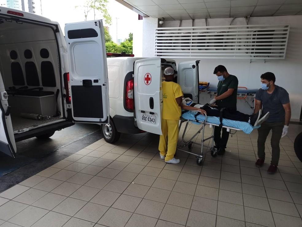 whatsapp image 2021 01 13 at 13.50.40 - Mãe e crianças são socorridas após envenenamento em Bayeux, na PB