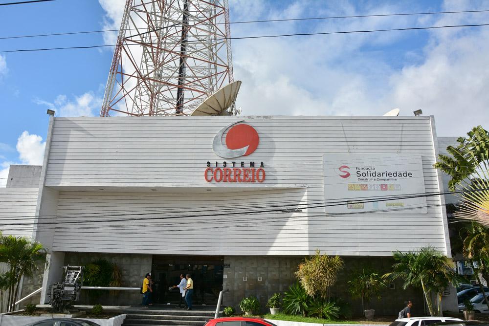 1 2 - FORTES CHUVAS EM JOÃO PESSOA! Raio tira do ar todas as emissoras do Sistema Correio de Comunicação