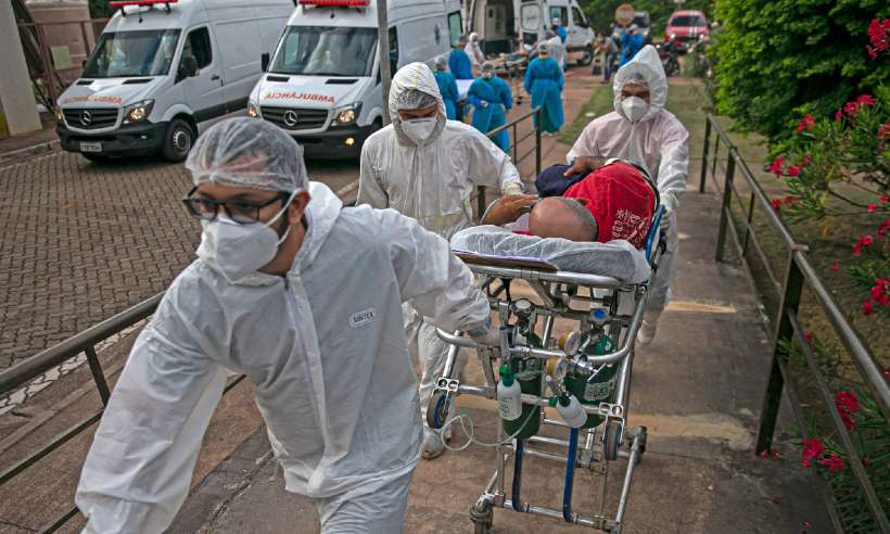 20210227204601611354i - O Brasil vive o auge; confira os números de ocupação de UTIs por Covid-19 no País neste Domingo
