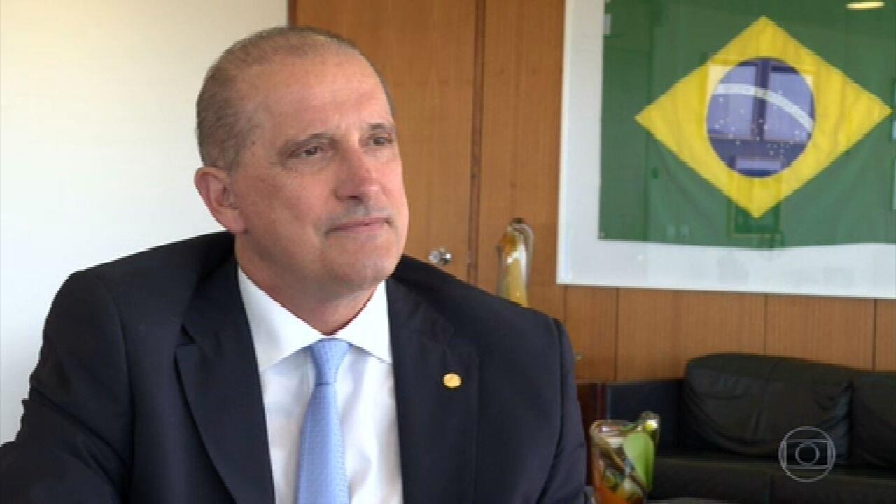 9265417 - Bolsonaro transfere Onyx para a Secretaria-Geral e nomeia aliado de ACM Neto para Cidadania