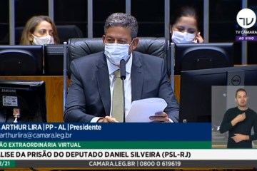 AGORA: Câmara realiza sessão para decidir sobre prisão do deputado Daniel Silveira; VEJA AO VIVO