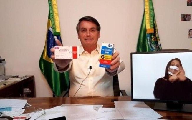 CLOROQUINA BOLSONARO - Parecer do Ministério da Saúde contraindica uso de cloroquina, ivermectina e azitromicina para pacientes com Covid-19