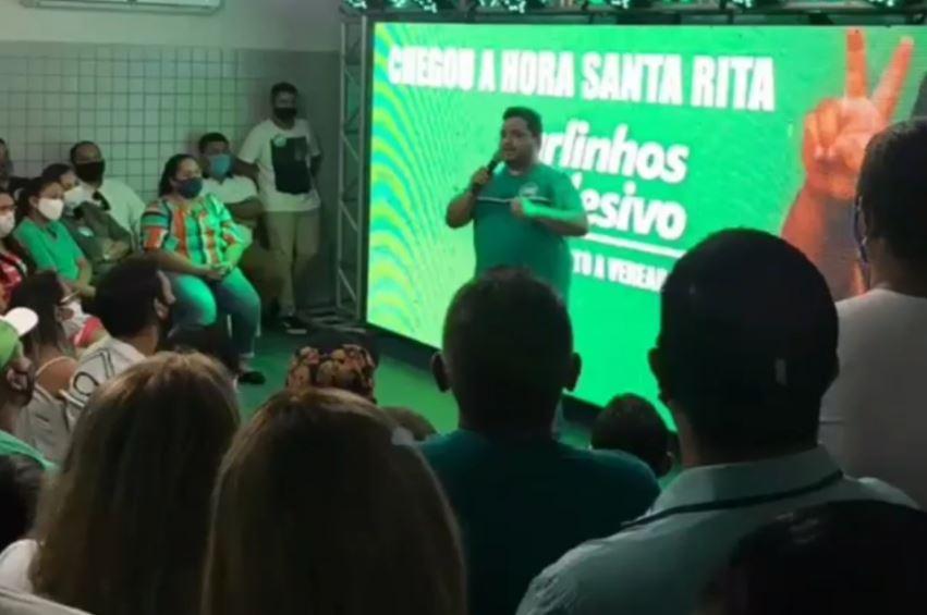 Capturar.JPGq  - ARTICULAÇÕES EM SANTA RITA: Presidente do Podemos afirma que partido vai apresentar propositura para a estadual
