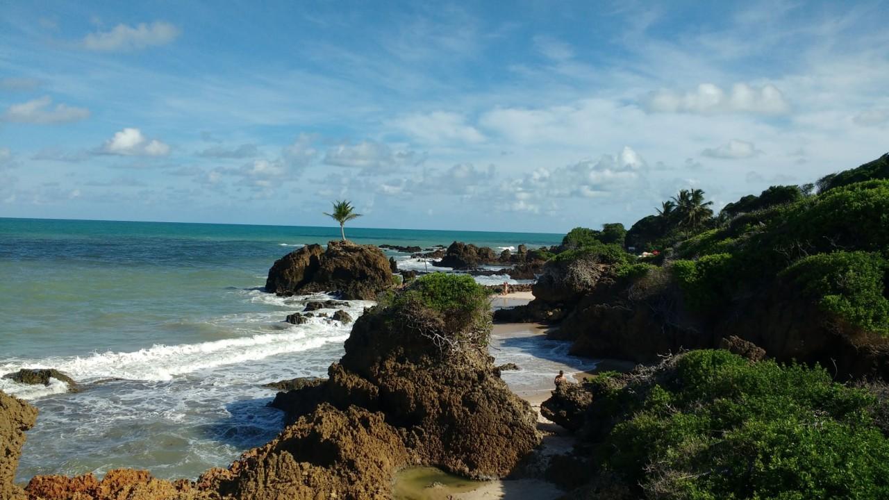 Praia de Tamababa Alisson Correia - Cidades do Litoral preparam esquemas para evitar aglomeração no período de Carnaval