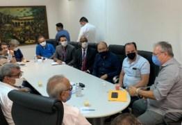 Cícero Lucena, Durval Ferreira e Secretário de Saúde se reúnem com pastores de João Pessoa para discutir os protocolos de prevenção à Covid
