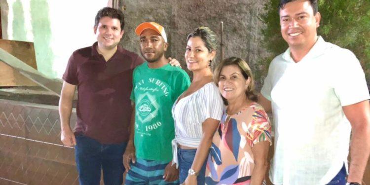WhatsApp Image 2021 02 07 at 11.32.08 e1612708579338 750x375 1 - Em Mamanguape: Hugo Mota se reúne com Eunice e conversam sobre ações e a pré-candidatura de Danielle Rodrigues
