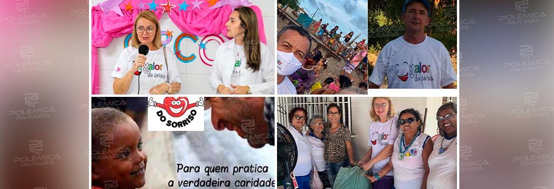 WhatsApp Image 2021 02 09 at 11.10.54 1 - VALOR DO SORRISO: em Cabedelo, projeto leva alimentos, roupas, esperança e alegria para quem precisa