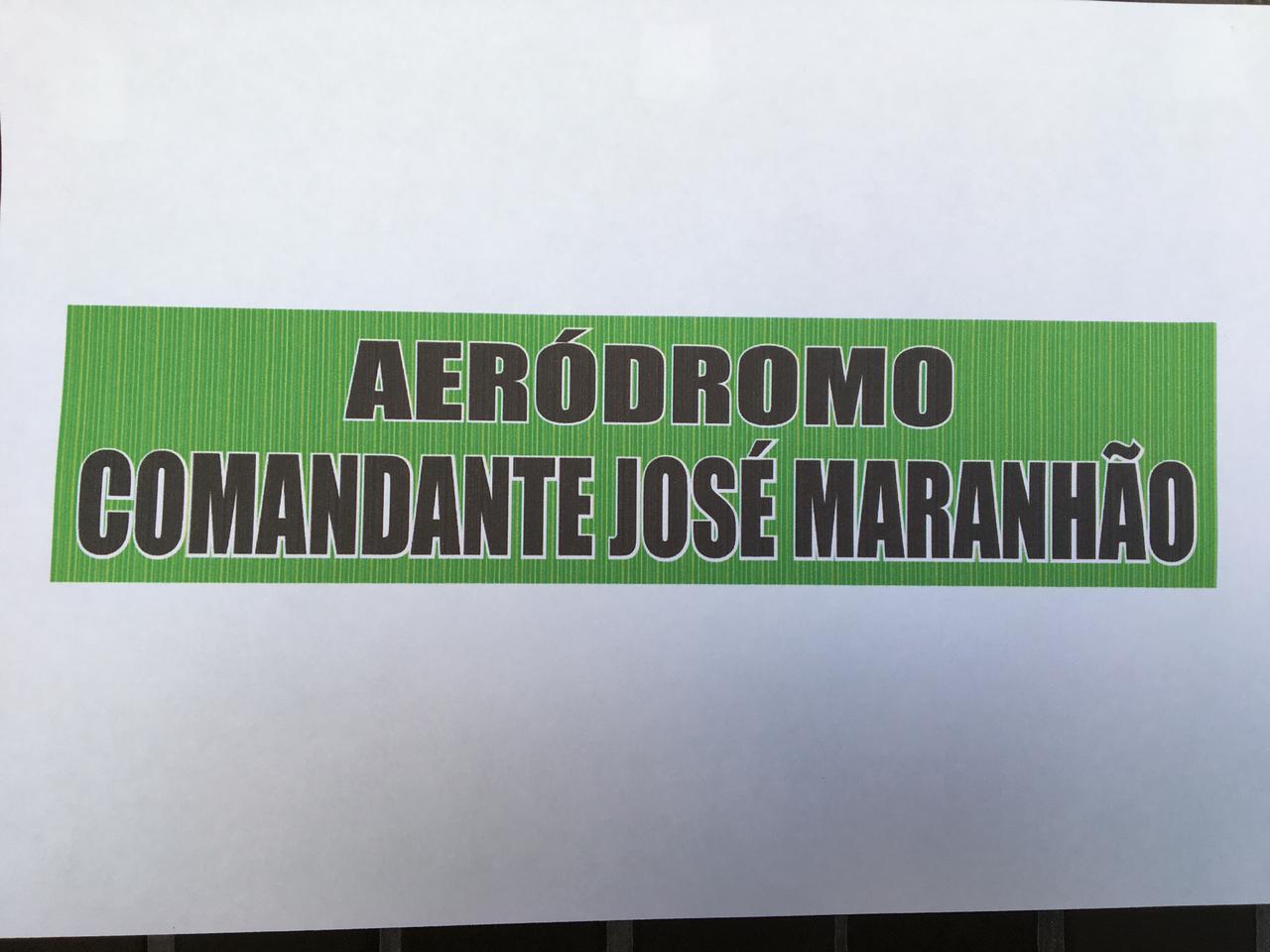 WhatsApp Image 2021 02 09 at 20.46.29 - HOMENAGEM A ZÉ! Clube de Livramento passa a se chamar Aeródromo Comandante José Maranhão e fará sobrevoo em Araruna - VEJA VÍDEO