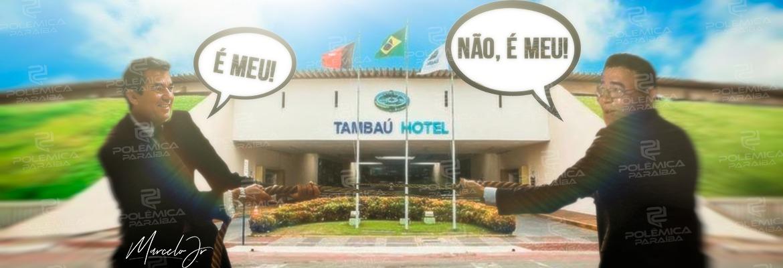 """WhatsApp Image 2021 02 10 at 12.06.35 1 - BRIGA PELO HOTEL TAMBAÚ! Leiloeiro diz que a proposta de Gaspar foi dada a partir das 14h; Galdino contesta: """"Alterou o edital"""""""
