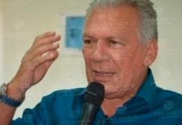 Prefeito de Cajazeiras é internado com quadro de desidratação e será transferido para UTI em João Pessoa