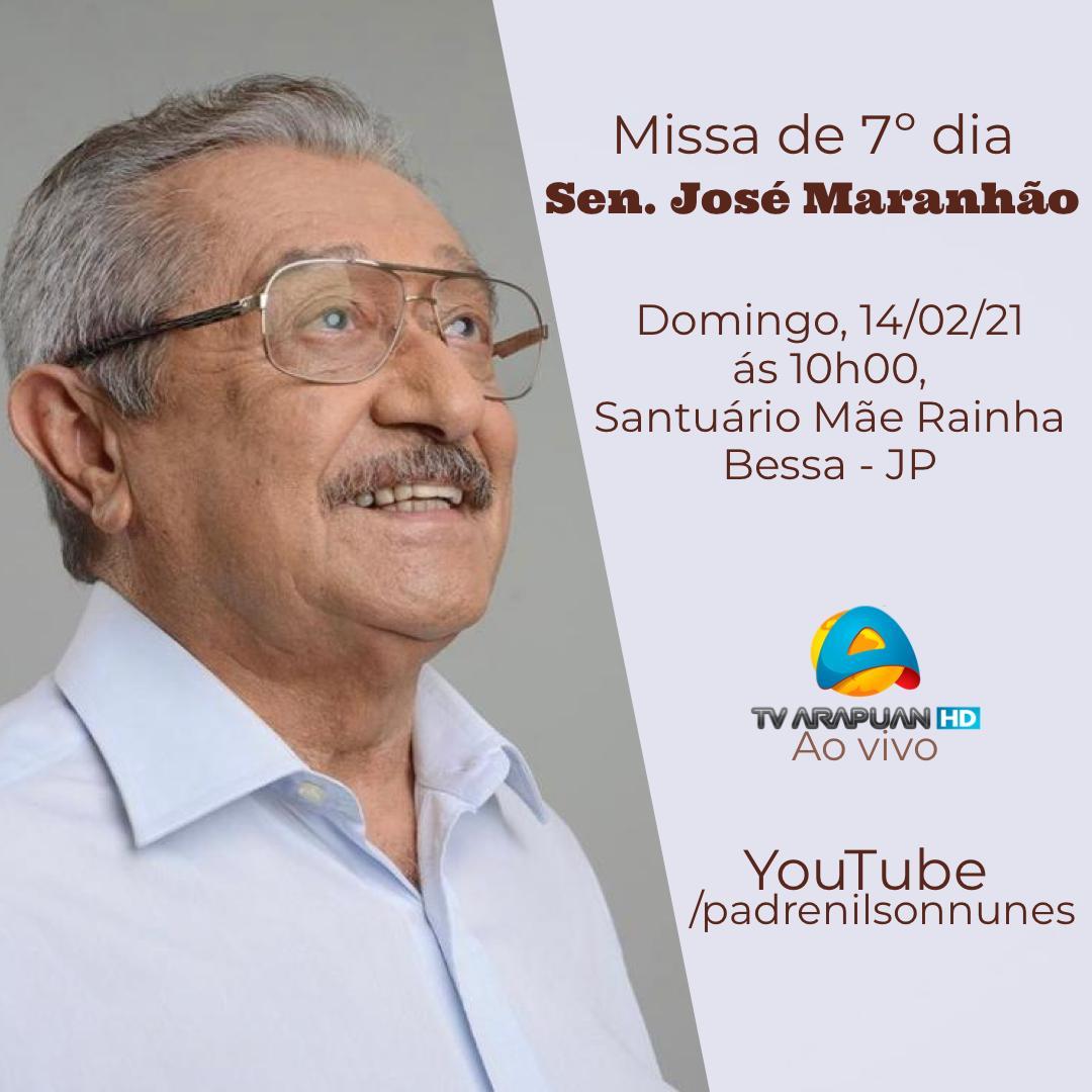 WhatsApp Image 2021 02 11 at 20.45.44 - No Santuário Mãe Rainha: Missa de Sétimo Dia de Zé Maranhão acontece neste domingo