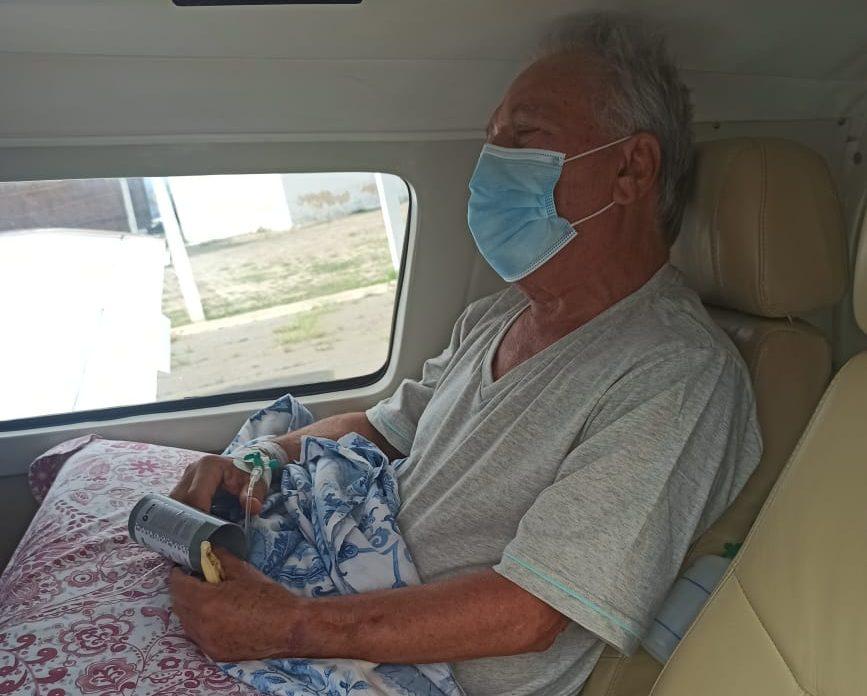 WhatsApp Image 2021 02 12 at 11.25.14 e1613140305205 - Zé Aldermir chega em João Pessoa, onde seguirá internado em UTI de hospital - VEJA VÍDEO