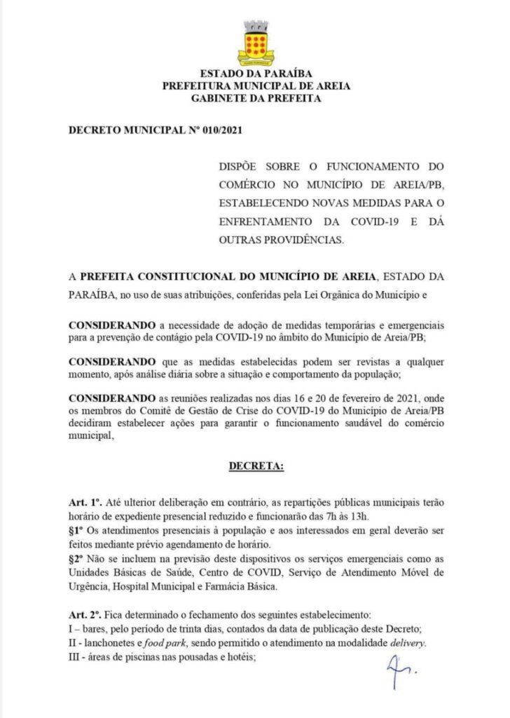 "WhatsApp Image 2021 02 22 at 10.43.05 728x1024 1 - Município da Paraíba decreta ""toque de recolher"" e fecha bares, hotéis e pousadas por 30 dias para coibir coronavírus"