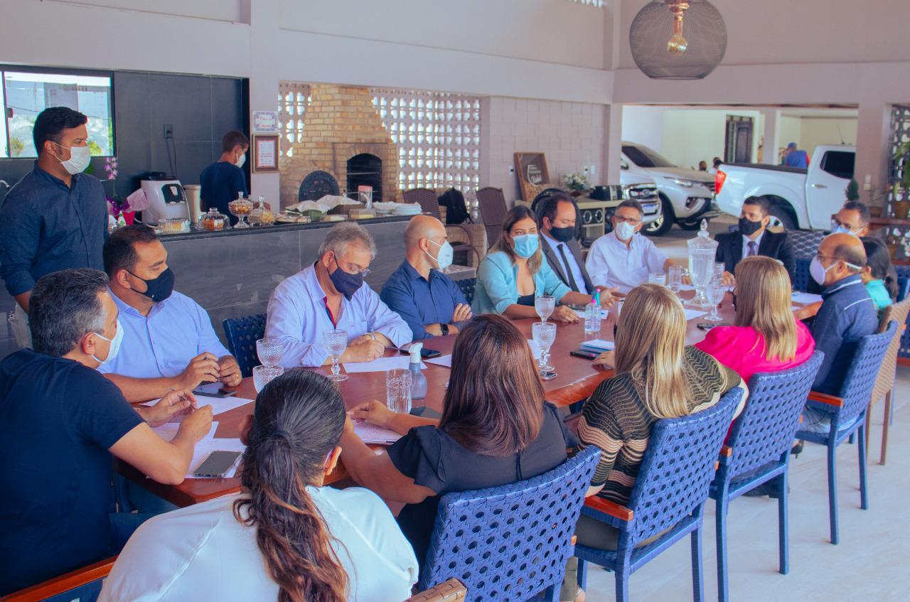 WhatsApp Image 2021 02 23 at 17.50.54 1 - Consórcio Metropolitano se reúne em Santa Rita para discutir ações conjuntas de combate à pandemia