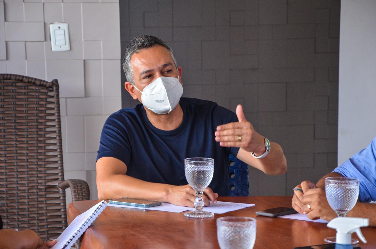WhatsApp Image 2021 02 23 at 17.50.54 - Consórcio Metropolitano se reúne em Santa Rita para discutir ações conjuntas de combate à pandemia