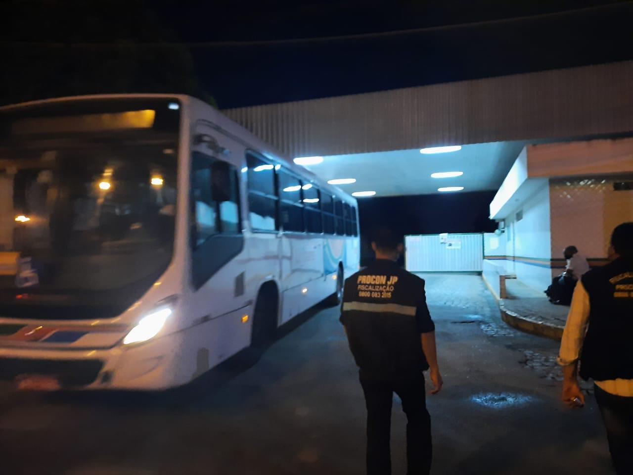 WhatsApp Image 2021 02 24 at 07.11.50 - PMJP realiza operação para fiscalizar as condições de higiene dos ônibus da Capital - VEJA