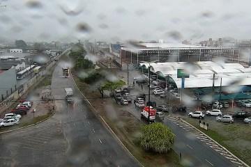 WhatsApp Image 2021 02 27 at 09.13.20 - João Pessoa registra pontos de alagamento e semáforos com problemas neste sábado; confira locais