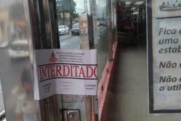Supermercado é interditado em João Pessoa por descumprir decreto municipal com medidas contra Covid-19